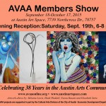 AVAA Members Show Opens Sept. 19th!