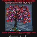 LOVE Show at Austin Art Space!