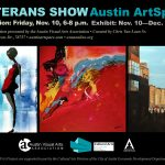 Veterans Art Exhibit Opens Nov. 10th at Austin ArtSpace
